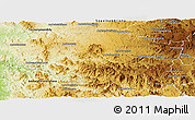 Physical Panoramic Map of Betafo