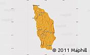 Political Map of Manjakandriana, cropped outside