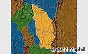 Political Map of Manjakandriana, darken