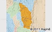 Political Map of Manjakandriana, lighten