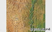 Satellite Map of Manjakandriana