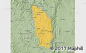 Savanna Style Map of Manjakandriana