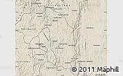 Shaded Relief Map of Manjakandriana