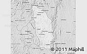 Silver Style Map of Manjakandriana