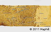 Physical Panoramic Map of Manjakandriana