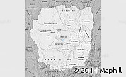 Gray Map of Antananarivo