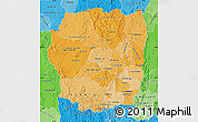 Political Shades Map of Antananarivo