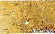 Physical 3D Map of Miarinarivo