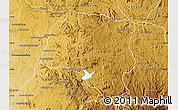 Physical Map of Miarinarivo