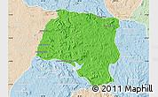 Political Map of Miarinarivo, lighten