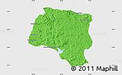 Political Map of Miarinarivo, single color outside