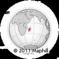 Outline Map of Miarinarivo