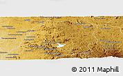 Physical Panoramic Map of Miarinarivo