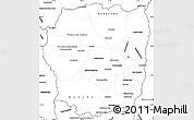 Blank Simple Map of Antananarivo