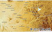 Physical 3D Map of Soavinandriana