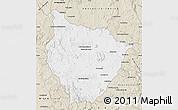Classic Style Map of Tsiroanomandidy