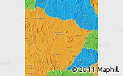 Political Map of Tsiroanomandidy