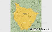 Savanna Style Map of Tsiroanomandidy