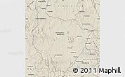 Shaded Relief Map of Tsiroanomandidy