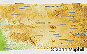 Physical Panoramic Map of Tsiroanomandidy