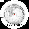 Outline Map of Ambatofinandrahana