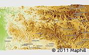 Physical Panoramic Map of Ambatofinandrahana