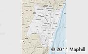 Classic Style Map of Fianarantsoa