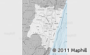 Gray Map of Fianarantsoa