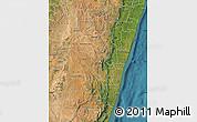 Satellite Map of Fianarantsoa