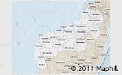 Classic Style 3D Map of Mahajanga