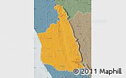 Political Map of Antsalova, semi-desaturated