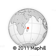 Outline Map of Antsohihy