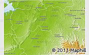 Physical 3D Map of Boriziny (Port-Berg.)