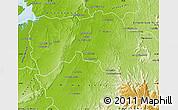 Physical Map of Boriziny (Port-Berg.)