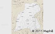 Classic Style Map of Maevatanana