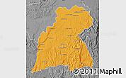 Political Map of Maevatanana, desaturated