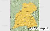 Savanna Style Map of Maevatanana