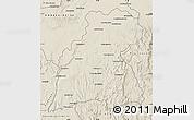 Shaded Relief Map of Maevatanana