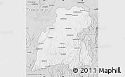 Silver Style Map of Maevatanana