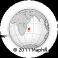Outline Map of Maevatanana