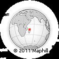Outline Map of Mahajanga Rural