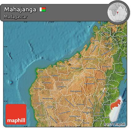 Free Satellite Map of Mahajanga