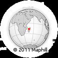 Outline Map of Mahajanga
