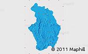 Political Map of Tsaratanana, cropped outside