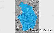 Political Map of Tsaratanana, desaturated