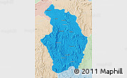 Political Map of Tsaratanana, lighten
