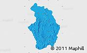 Political Map of Tsaratanana, single color outside
