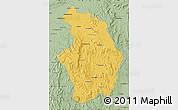 Savanna Style Map of Tsaratanana
