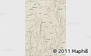 Shaded Relief Map of Tsaratanana