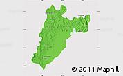 Political Map of Amparafaravola, cropped outside